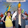 Me and Roy with the Wilson Parrot Foundation